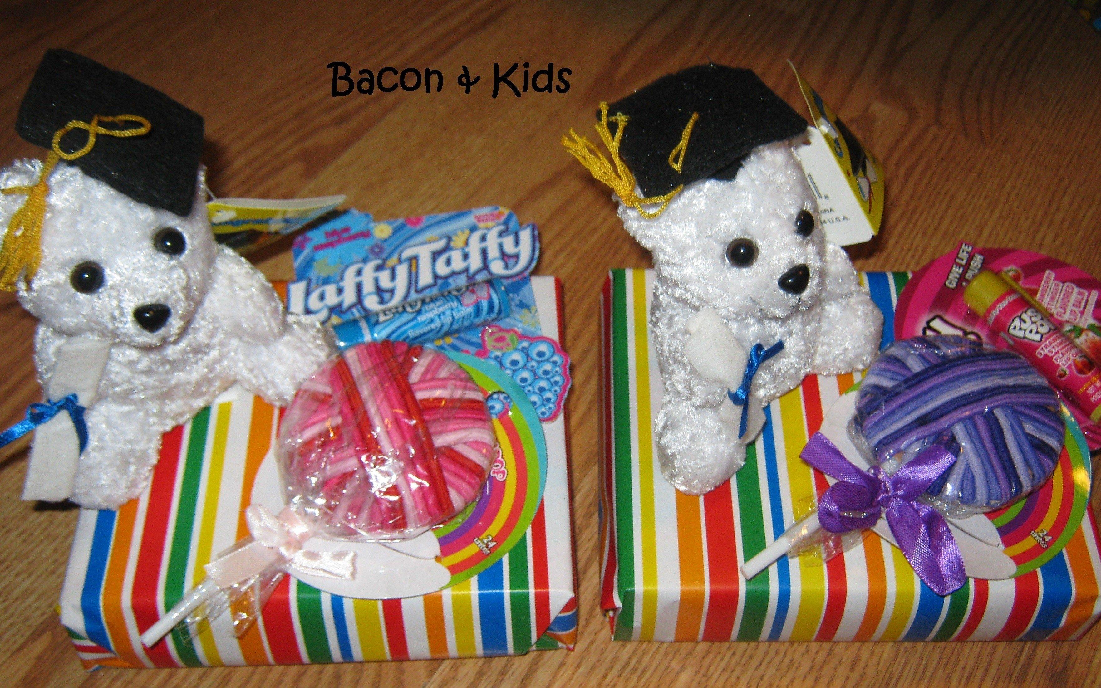 10 Great Gift Ideas For Kindergarten Graduation kindergarten graduation candy themed party bacon kids
