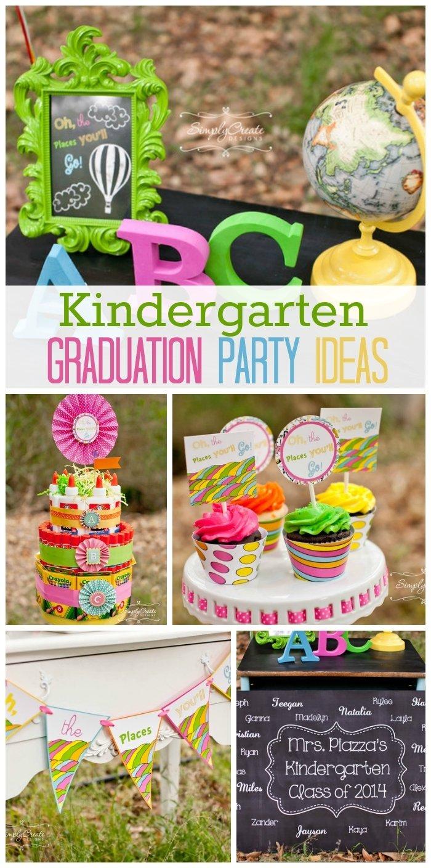 10 Lovable Fun Ideas For Graduation Parties kindergarten graduation graduation end of school kindergarten 2020