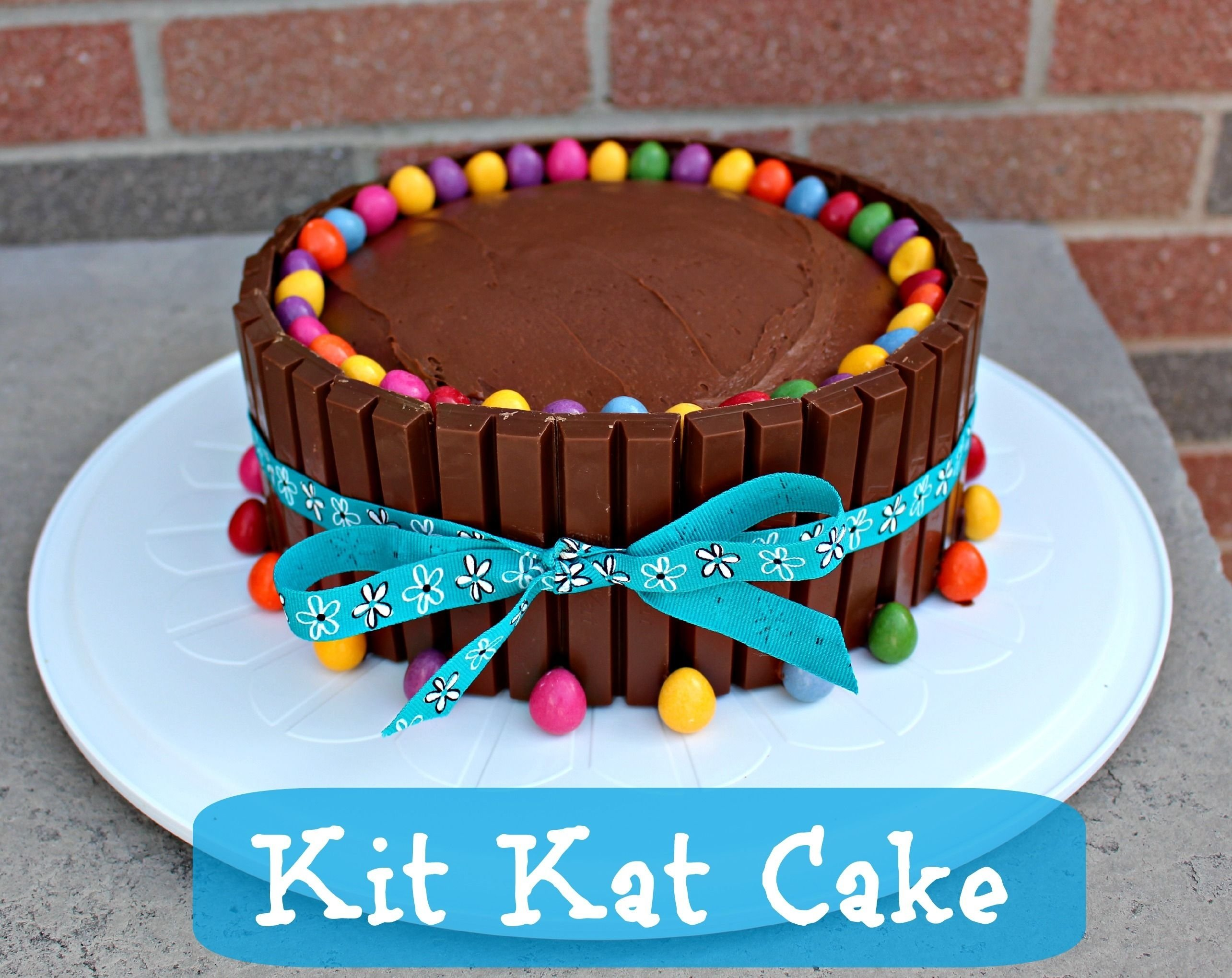 10 Elegant Easy Birthday Cake Decorating Ideas kit kat cake recipe cake birthday birthday cakes and teen 2020
