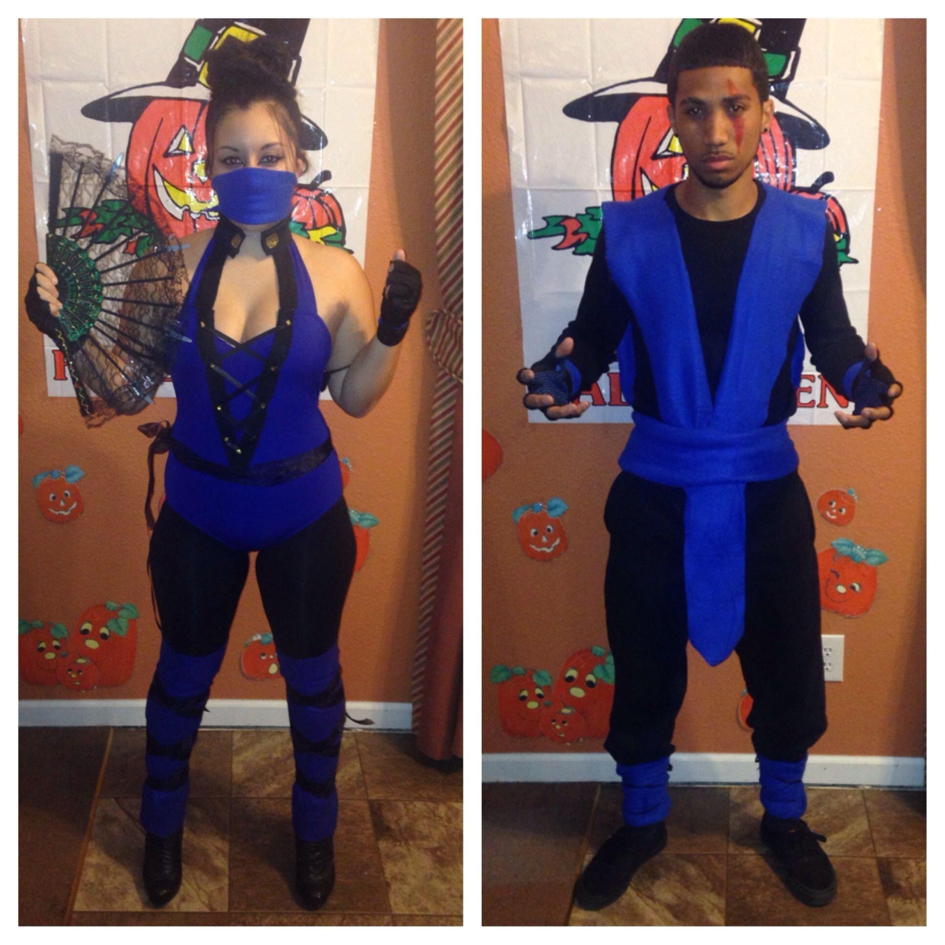 10 Stunning Halloween Costume Ideas For 2013 kitana sub zero couple costume halloween 2013 mortal kombat dyi 2020