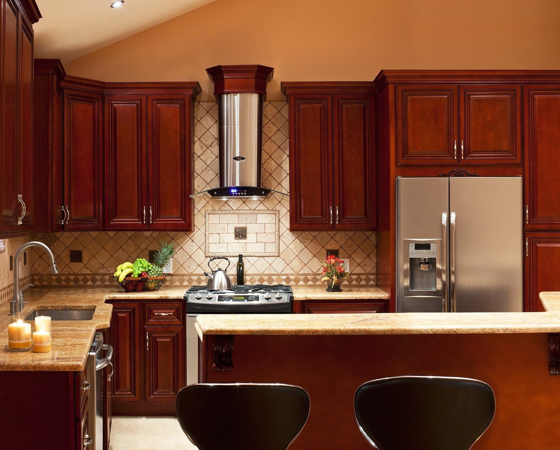 10 Attractive Backsplash Ideas For Cherry Cabinets kitchen backsplash photos attractive kitchen backsplash ideas dark 2020