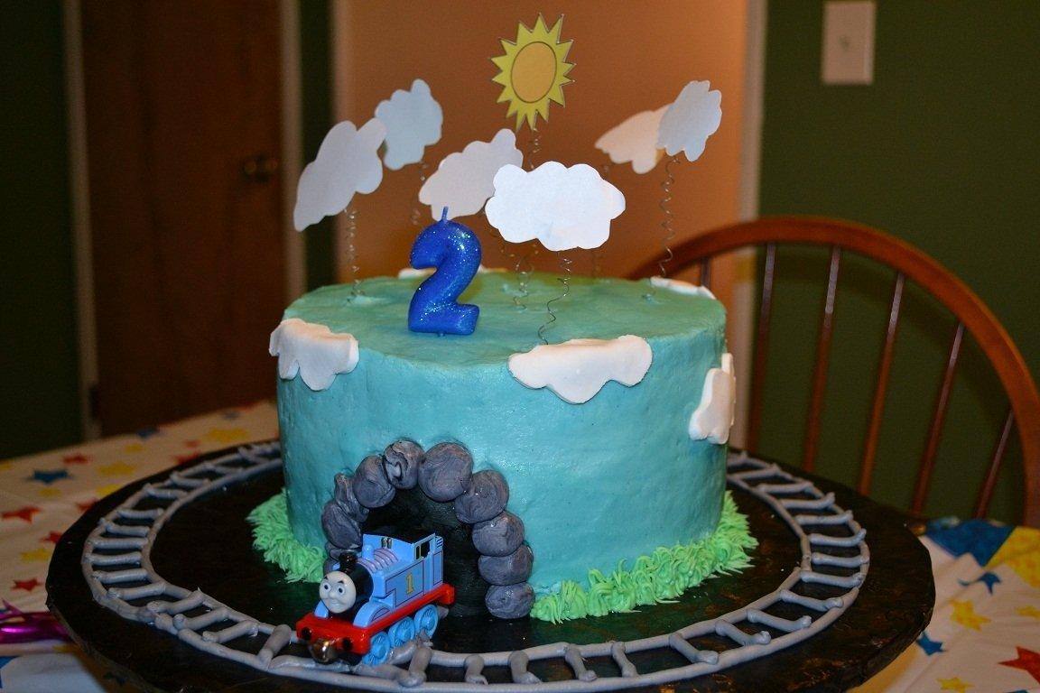 10 Amazing Thomas The Train Cakes Ideas kitchen bliss an easy thomas the train birthday cake 1 2021