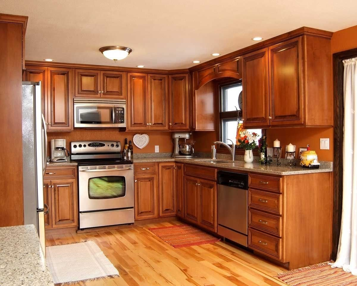 10 Lovable Kitchen Color Ideas With Maple Cabinets kitchen cabinet color ideas color ideas for kitchen with kitchen 2020