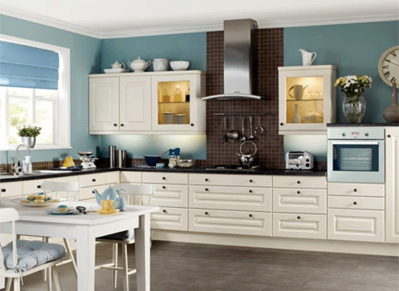 10 Pretty Kitchen Paint Ideas With White Cabinets kitchen cabinet white colors kitchen and decor 2 2020