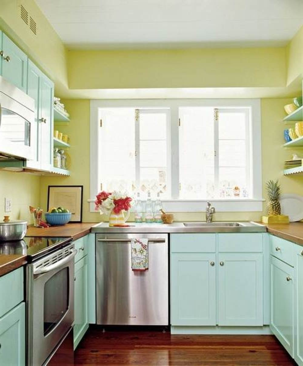 10 Amazing Kitchen Color Ideas For Small Kitchens kitchen cabinet wood colors kitchen color ideas for small kitchens 2021