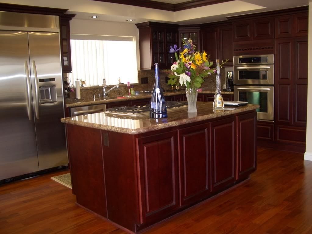 10 Lovable Kitchen Color Ideas With Maple Cabinets kitchen colors with cherry cabinets white porcelain single bowl two 2020