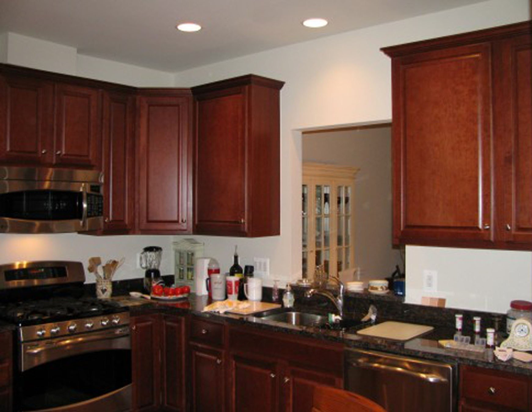 10 Lovable Kitchen Color Ideas With Maple Cabinets kitchen colors with dark brown cabinets wainscoting kitchens 2020