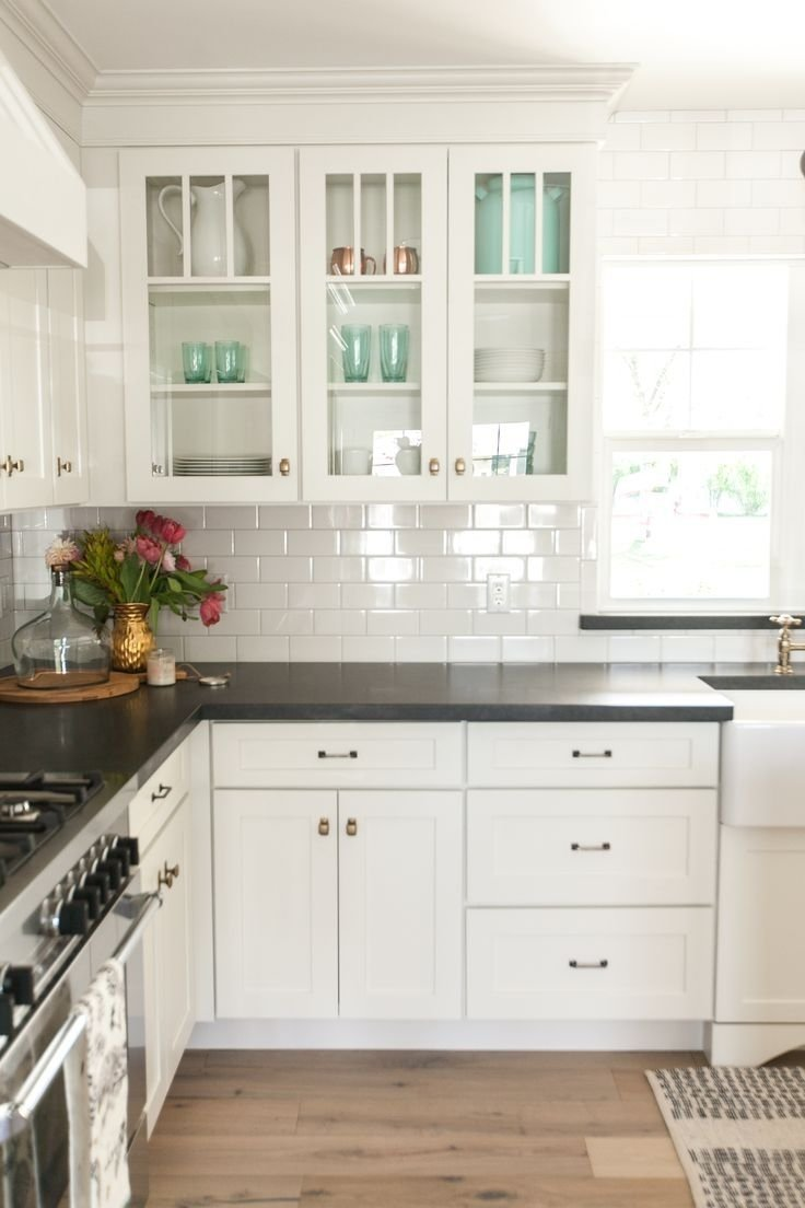 10 Spectacular Kitchen Countertop Ideas With White Cabinets kitchen countertop ideas with white cabinets white stock kitchen 2020