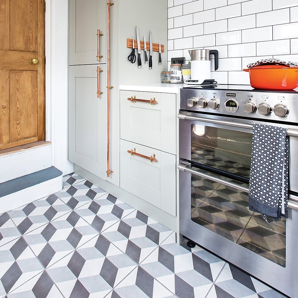 10 Fantastic Tile Flooring Ideas For Kitchen kitchen flooring ideas to give your scheme a new look