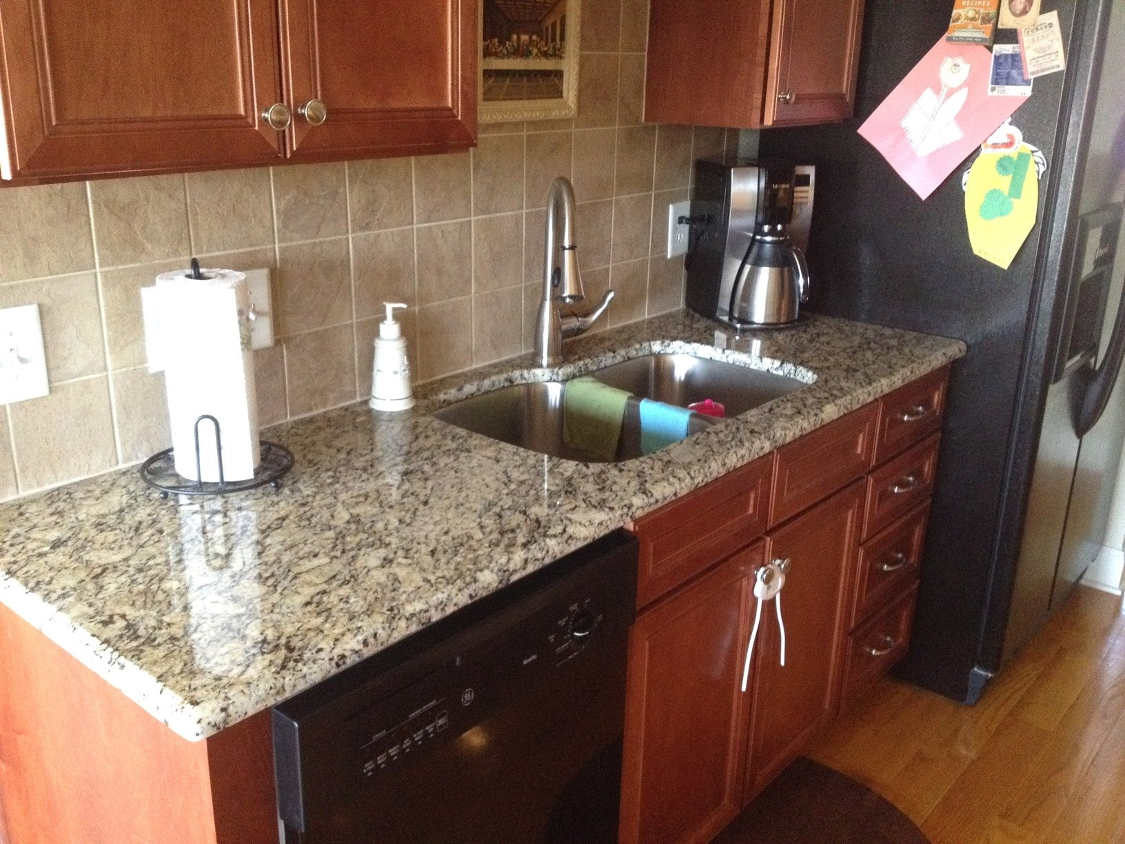 10 Amazing New Venetian Gold Granite Backsplash Ideas kitchen granite countertops cityrock countertops inc raleigh nc 2021