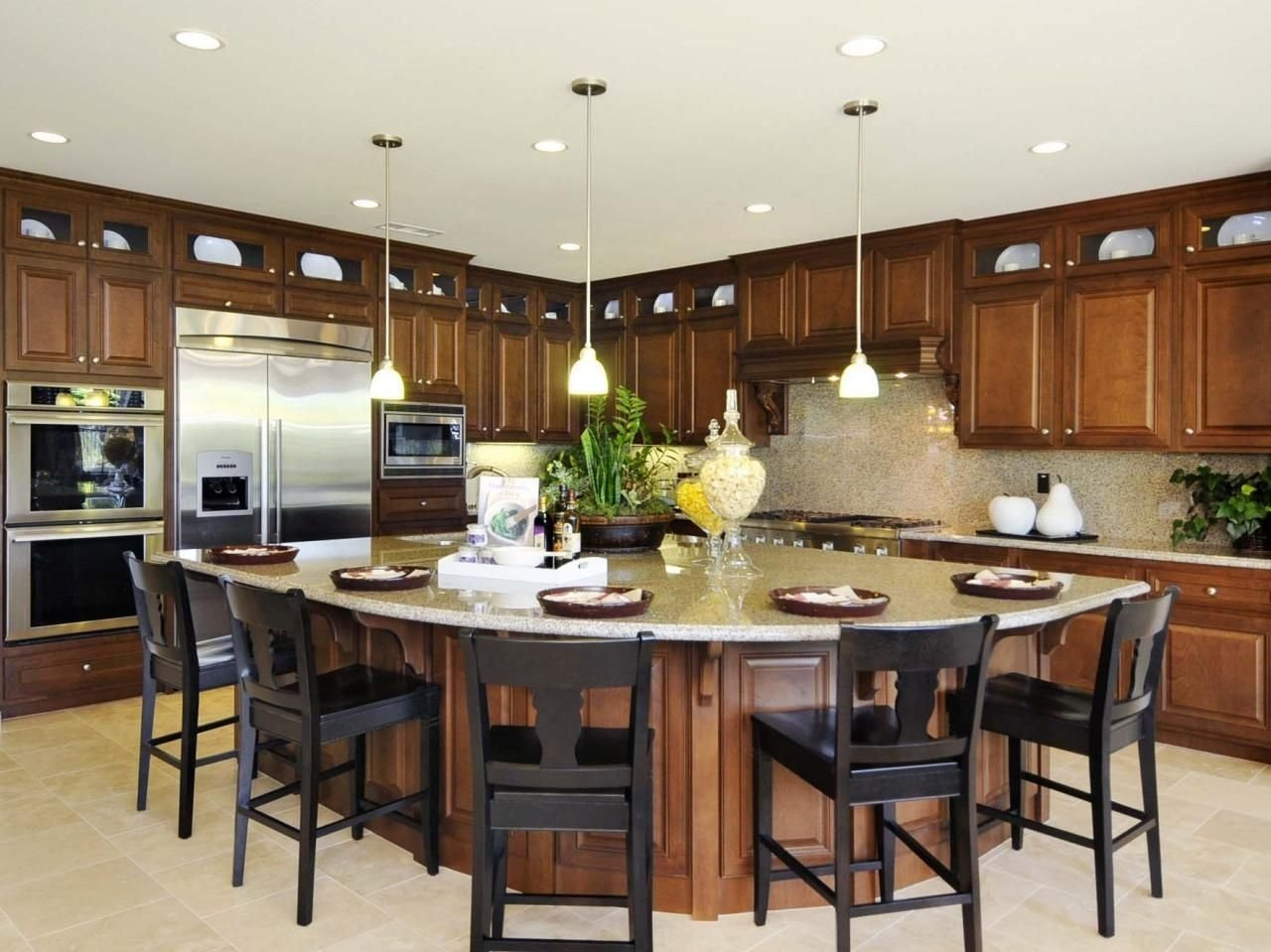 10 Fashionable Kitchen Layout Ideas With Island kitchen island design ideas pictures options tips island 2021