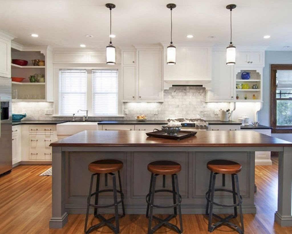 kitchen island pendant lighting fixtures • kitchen lighting ideas