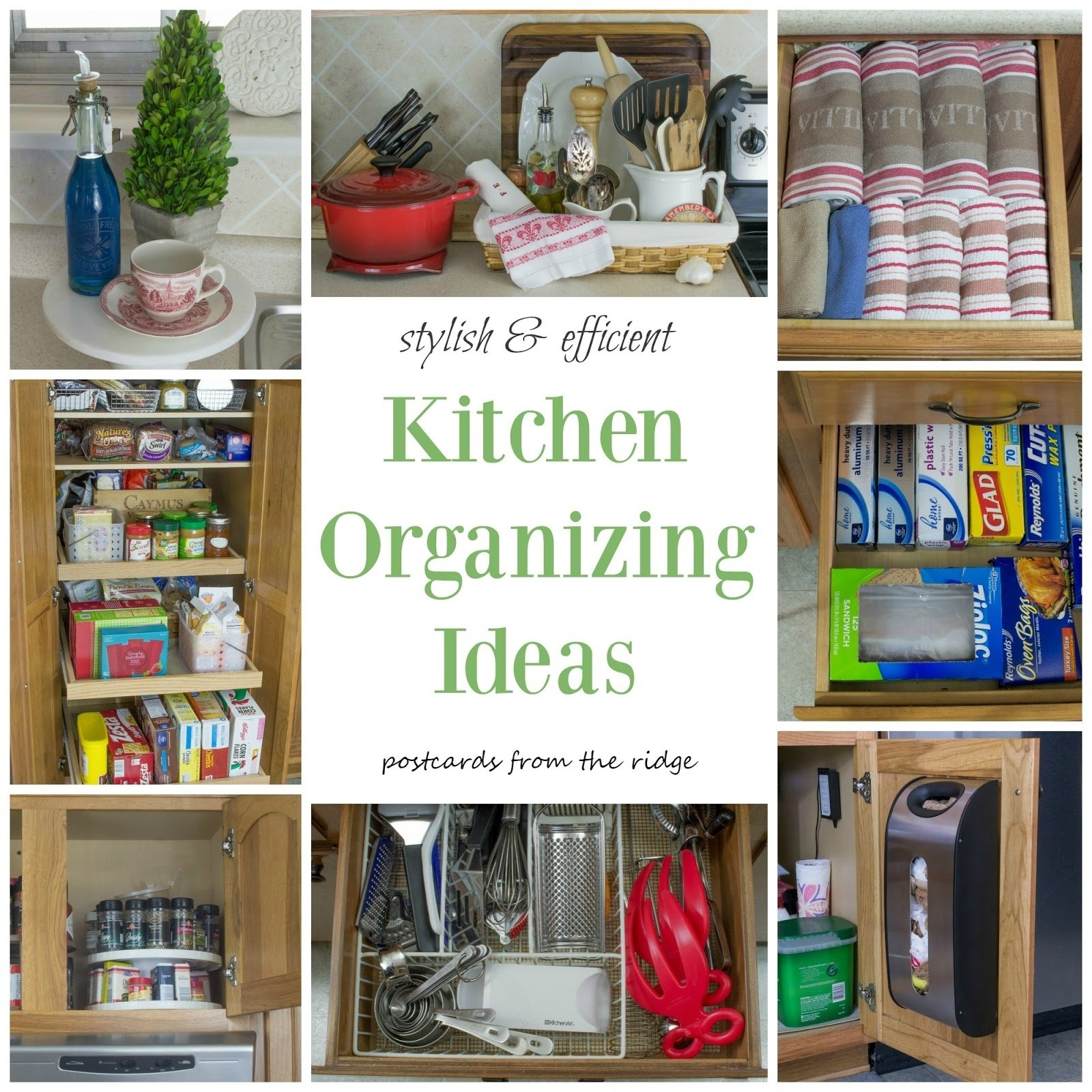 10 Most Popular Home Organization Tips And Ideas kitchen organization tips postcards from the ridge 2020
