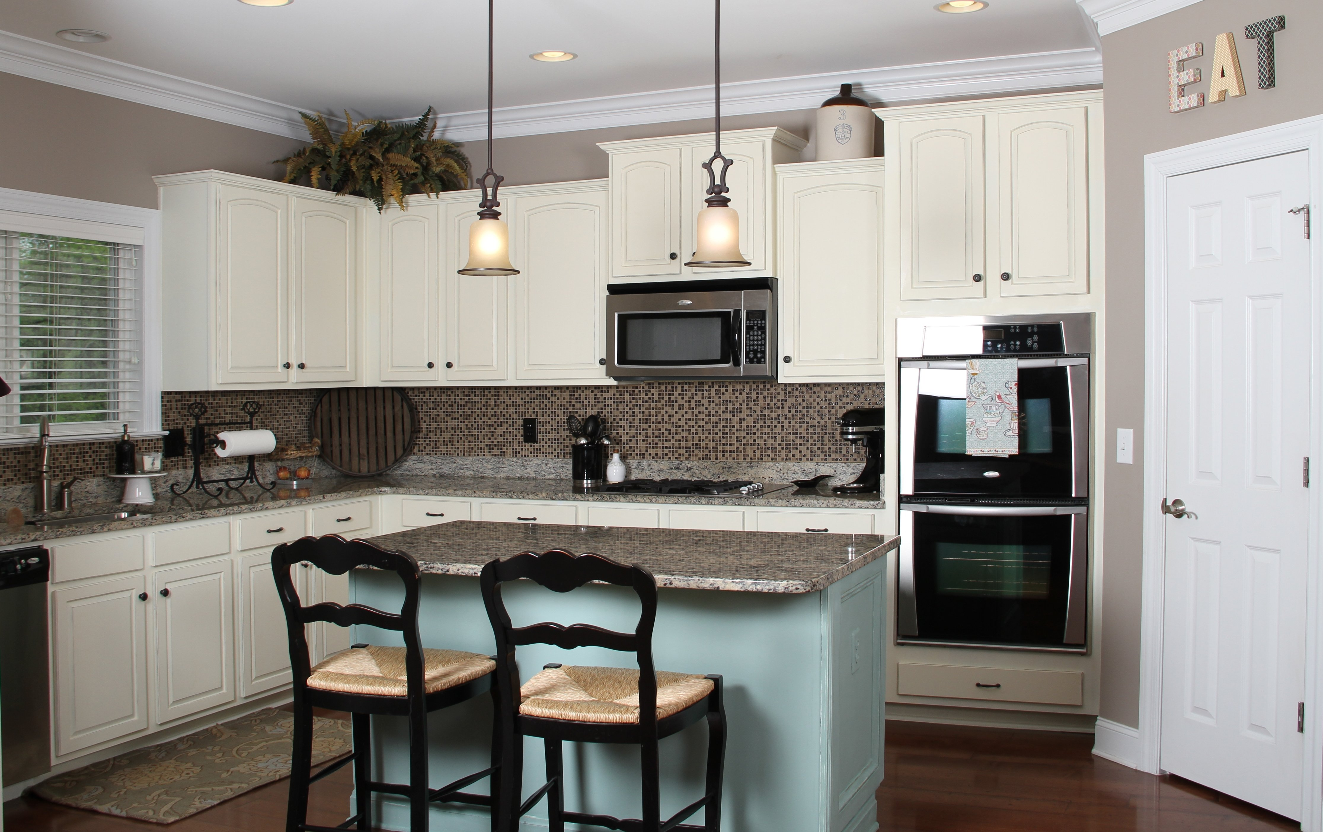 kitchen paint colors white cabinets - kitchen and decor