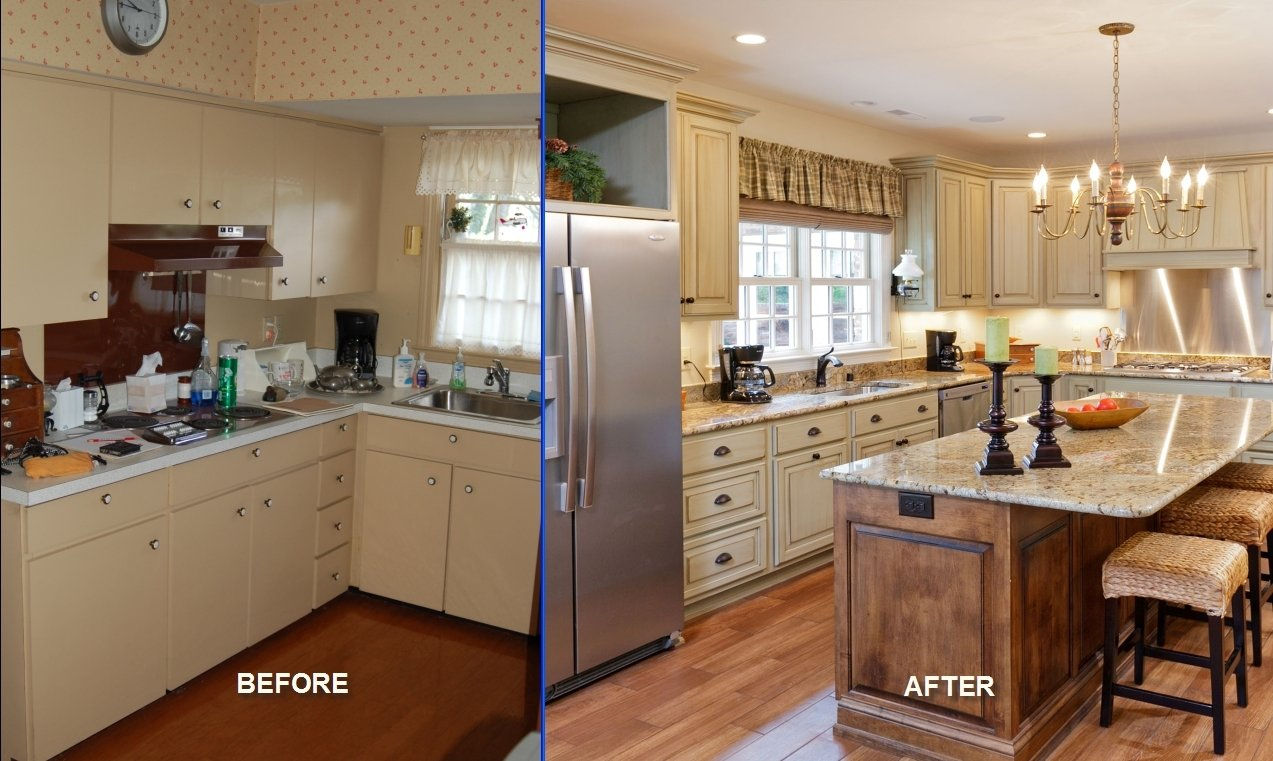 10 Wonderful Kitchen Remodeling Ideas Before And After kitchen remodel before and after pictures affordable modern home 2021