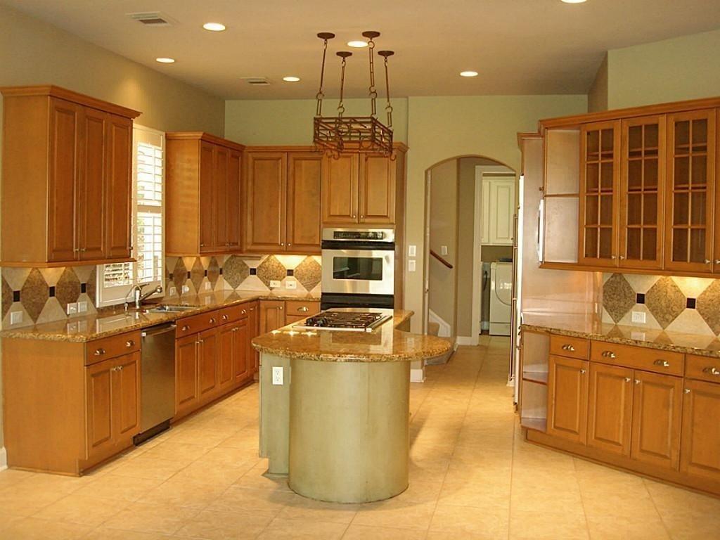 10 Fantastic Kitchen Color Ideas With Oak Cabinets kitchen room light wood kitchen decorating ideas kitchen ideas 2020
