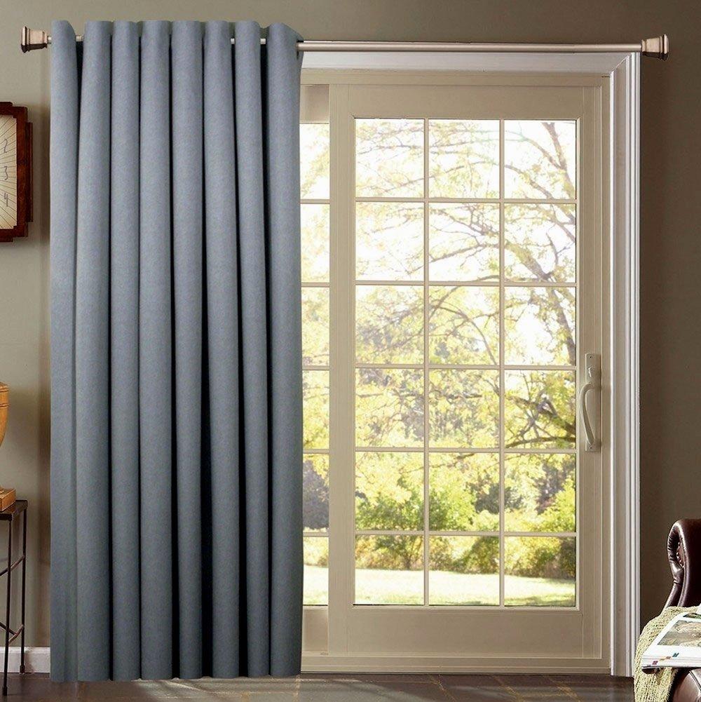 10 Amazing Sliding Glass Door Curtain Ideas kitchen sliding door curtains kitchen sliding glass door curtain 2020