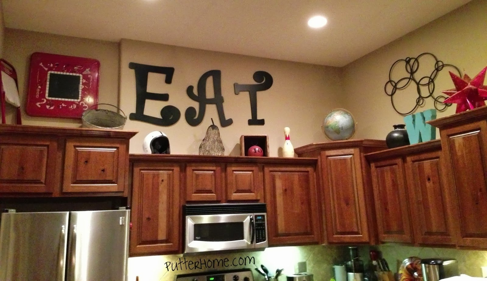10 Cute Decorating Ideas Above Kitchen Cabinets kitchen top cabinets decorating ideas best kitchen gallery