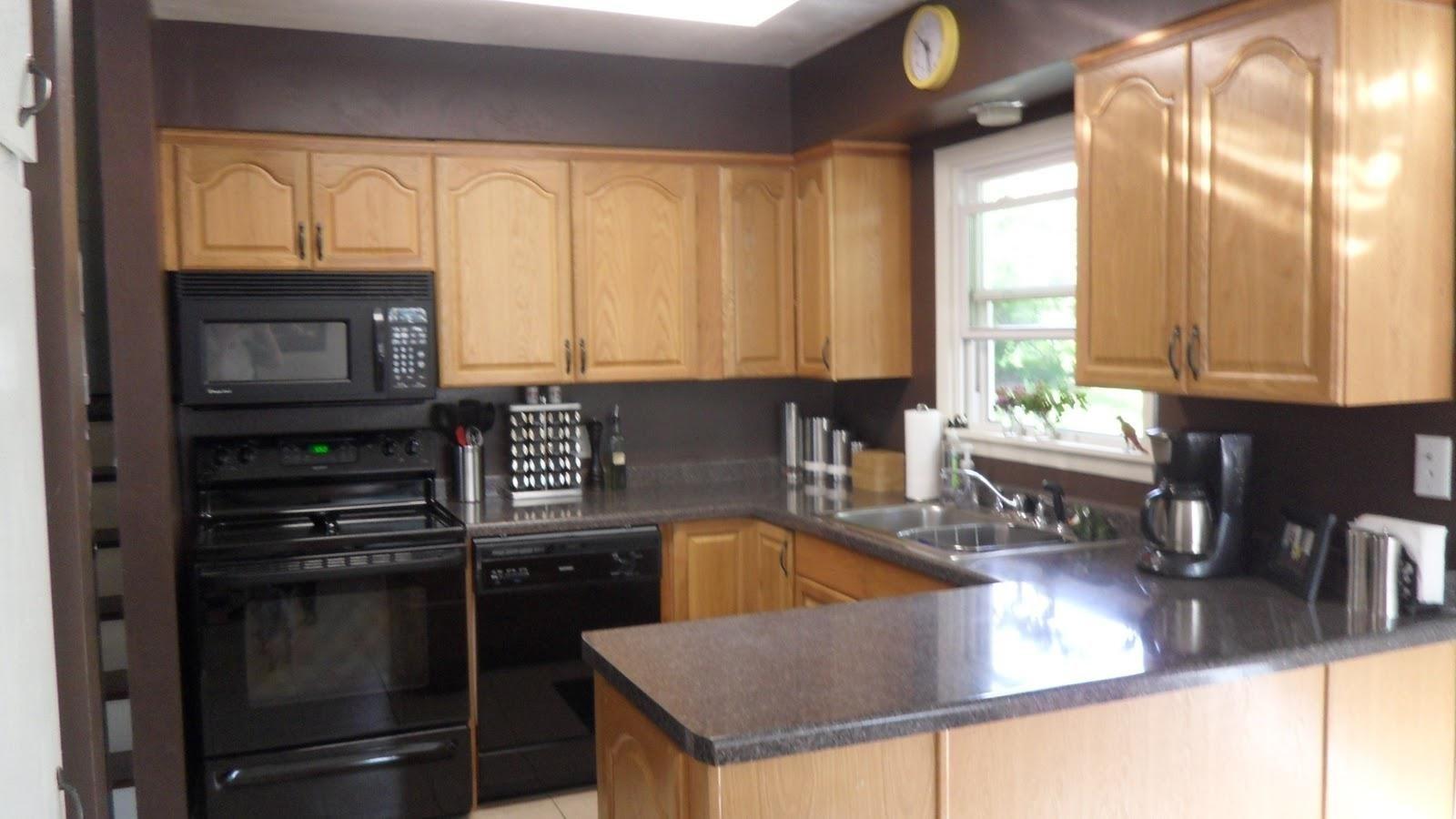10 Fantastic Kitchen Color Ideas With Oak Cabinets kitchen wall colors with oak cabinets awesome house best kitchen 2020