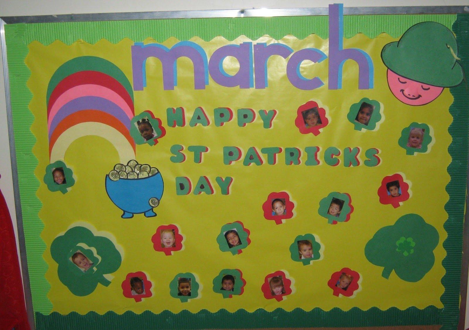 10 Awesome March Preschool Bulletin Board Ideas kreative resources bulletin boards 2020