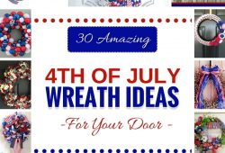 10 Fashionable 4Th Of July Wreath Ideas