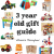 10 Cute Gift Ideas For 3 Year Olds