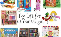 10 Fabulous 5 Year Old Girl Gift Ideas