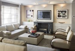 10 Lovely Living Room With Fireplace Ideas