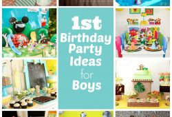 10 Most Popular Unique First Birthday Party Ideas For Boys