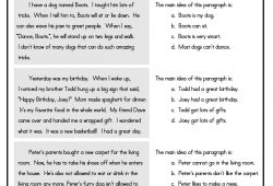10 Attractive Main Idea And Details Worksheets