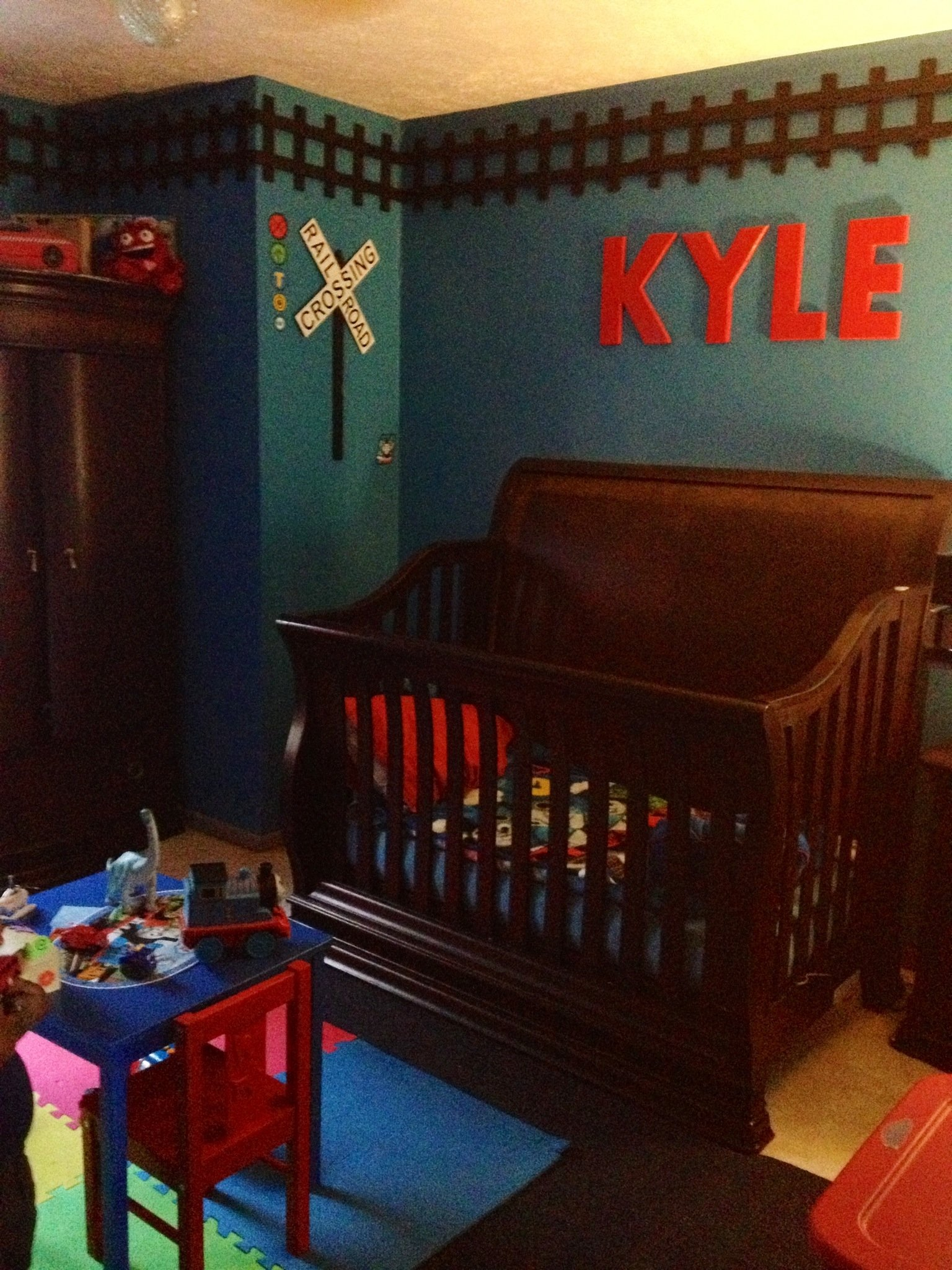 10 Stylish Thomas The Train Bedroom Ideas kyles thomas the train themed room i used picket fence cut the 2020