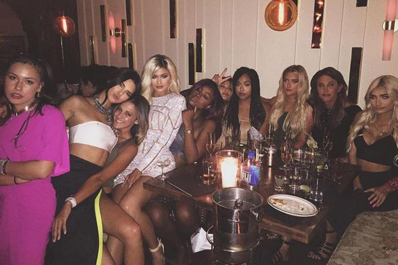 kylie jenner's crazy 18th birthday celebrations - zingfy