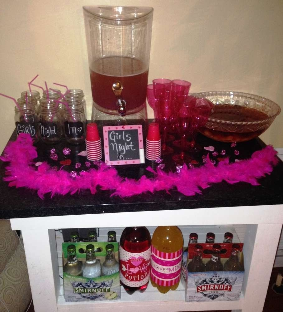 ladies night party ideas | photo 1 of 15 | catch my party