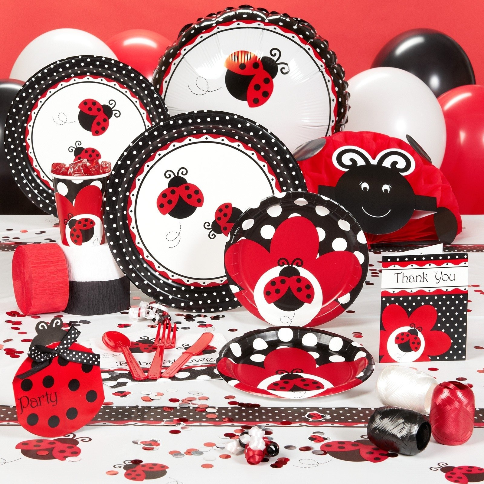 10 Attractive Lady Bug Baby Shower Ideas ladybug fancy birthday and baby shower complete line including