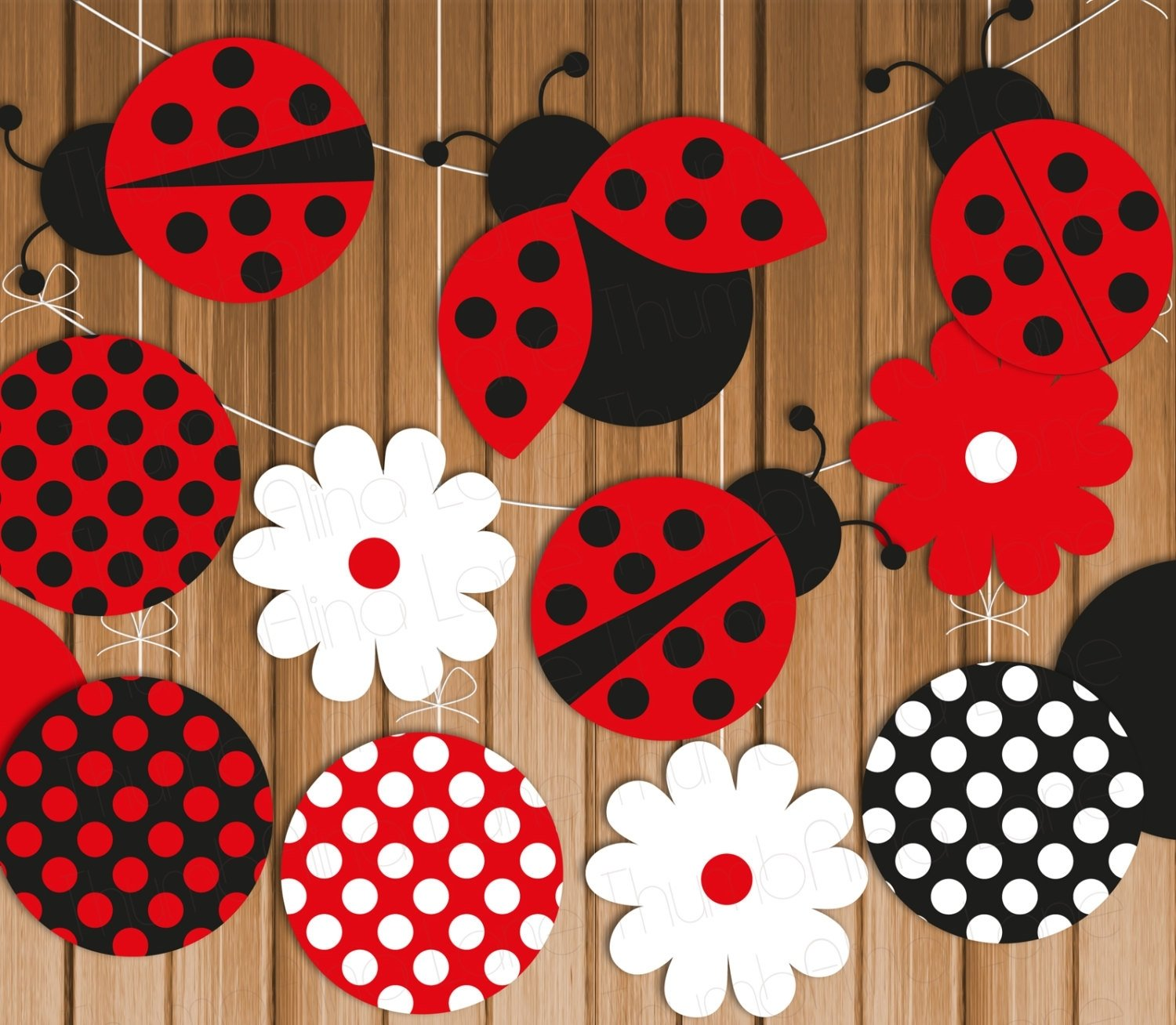ladybug themed birthday party activities — criolla brithday