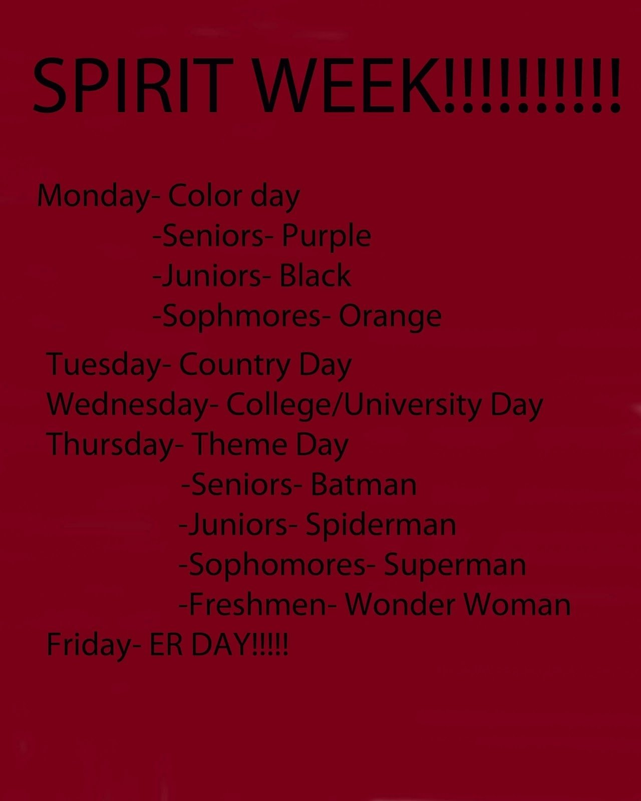 10 Trendy Spirit Day Ideas For Work lamours work spirit week poster