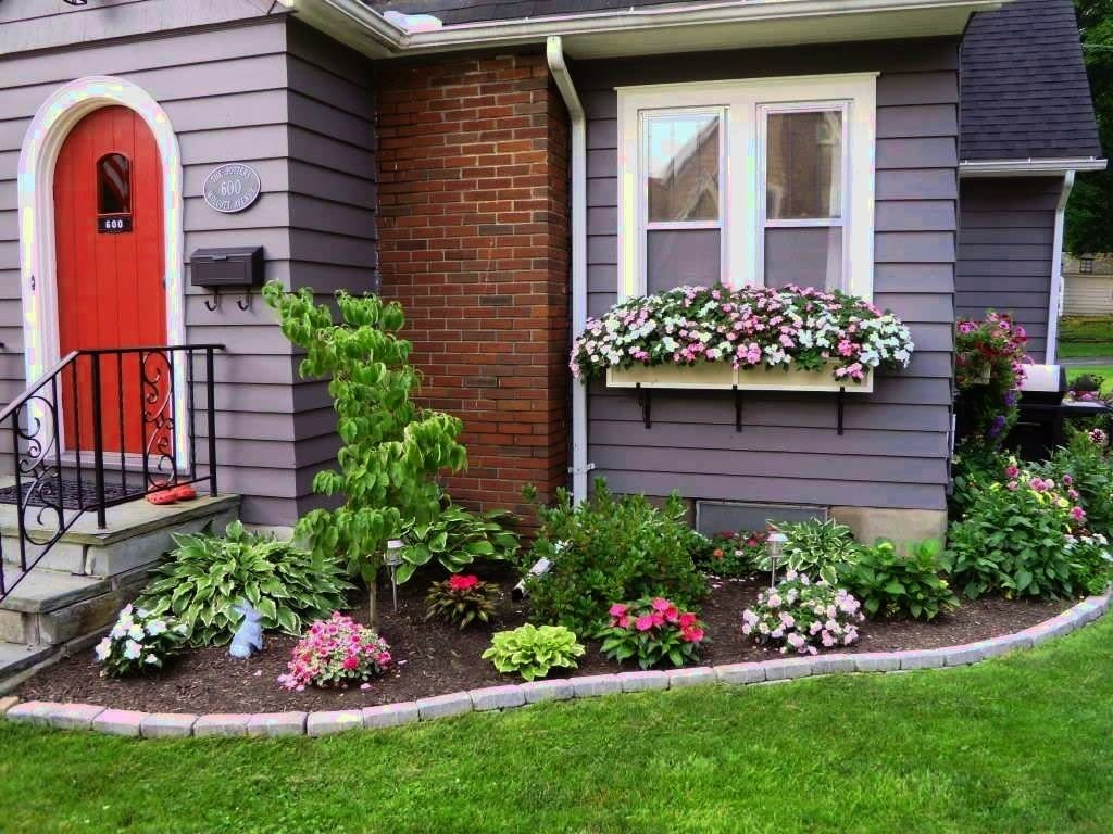 landscape design ideas front of house — manitoba design : successful