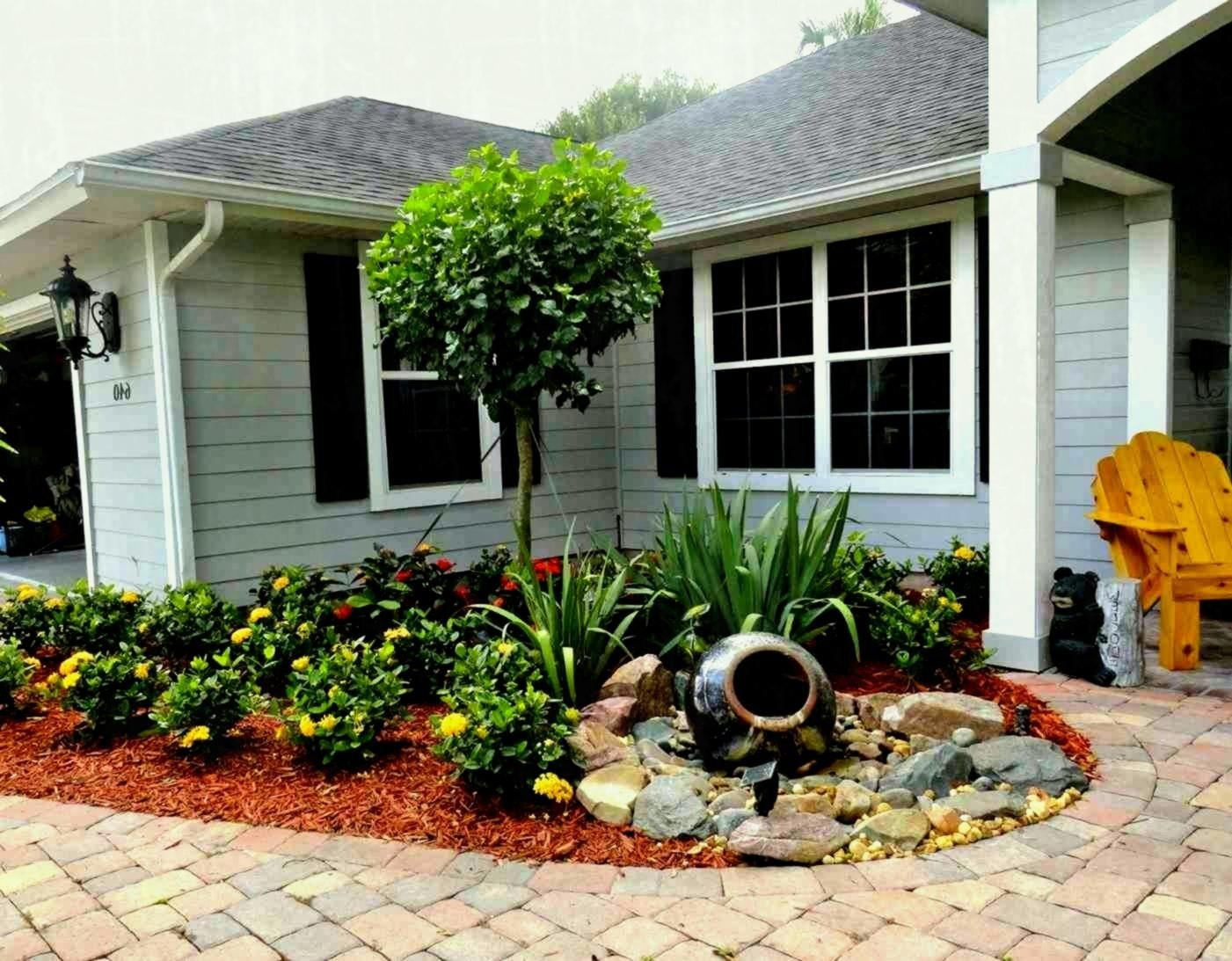 10 Elegant Simple Landscaping Ideas For Front Yards landscape design simple landscaping ideas with trees on a budget 2020