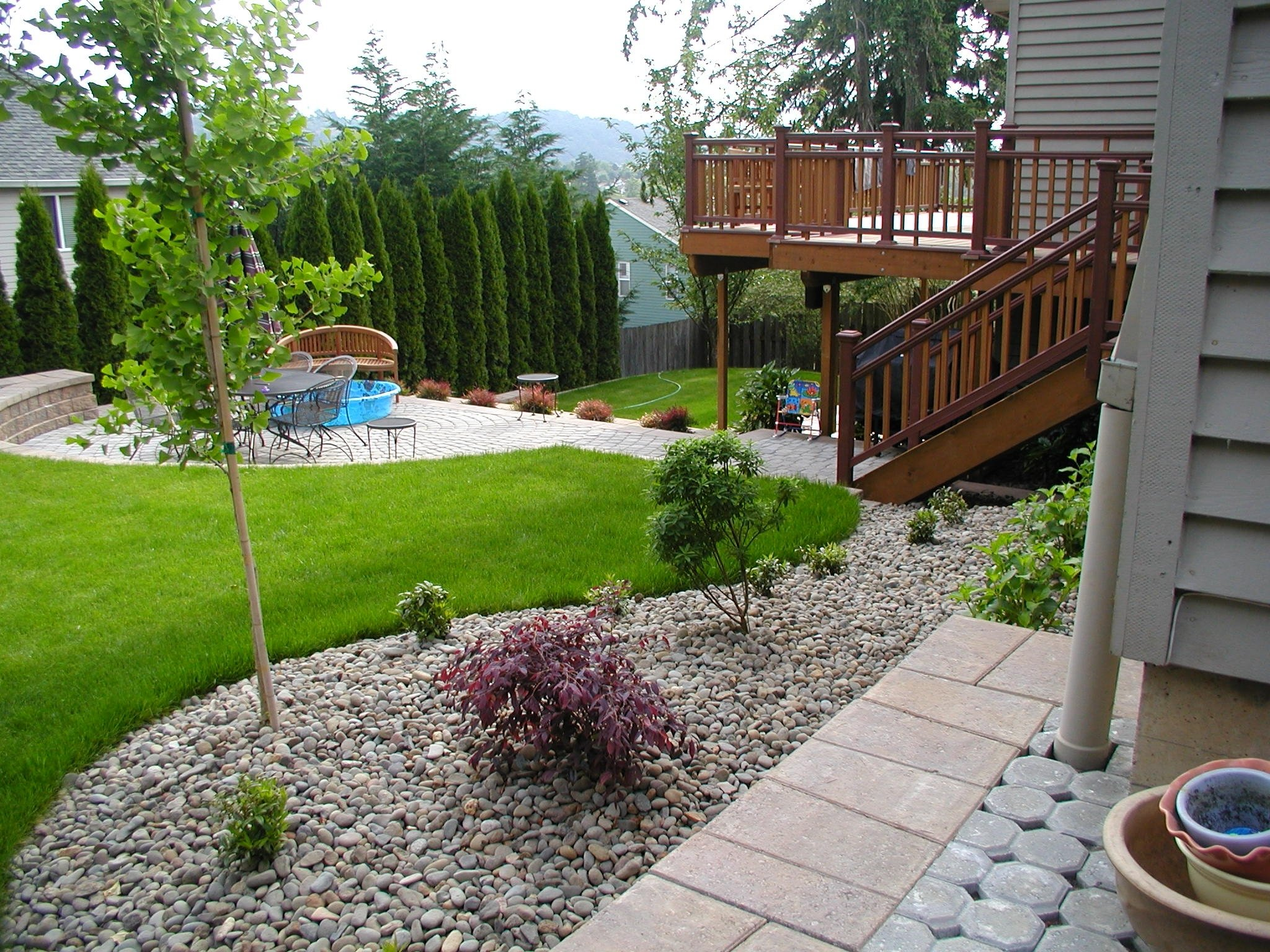 landscaping design ideas for backyard cute with images of