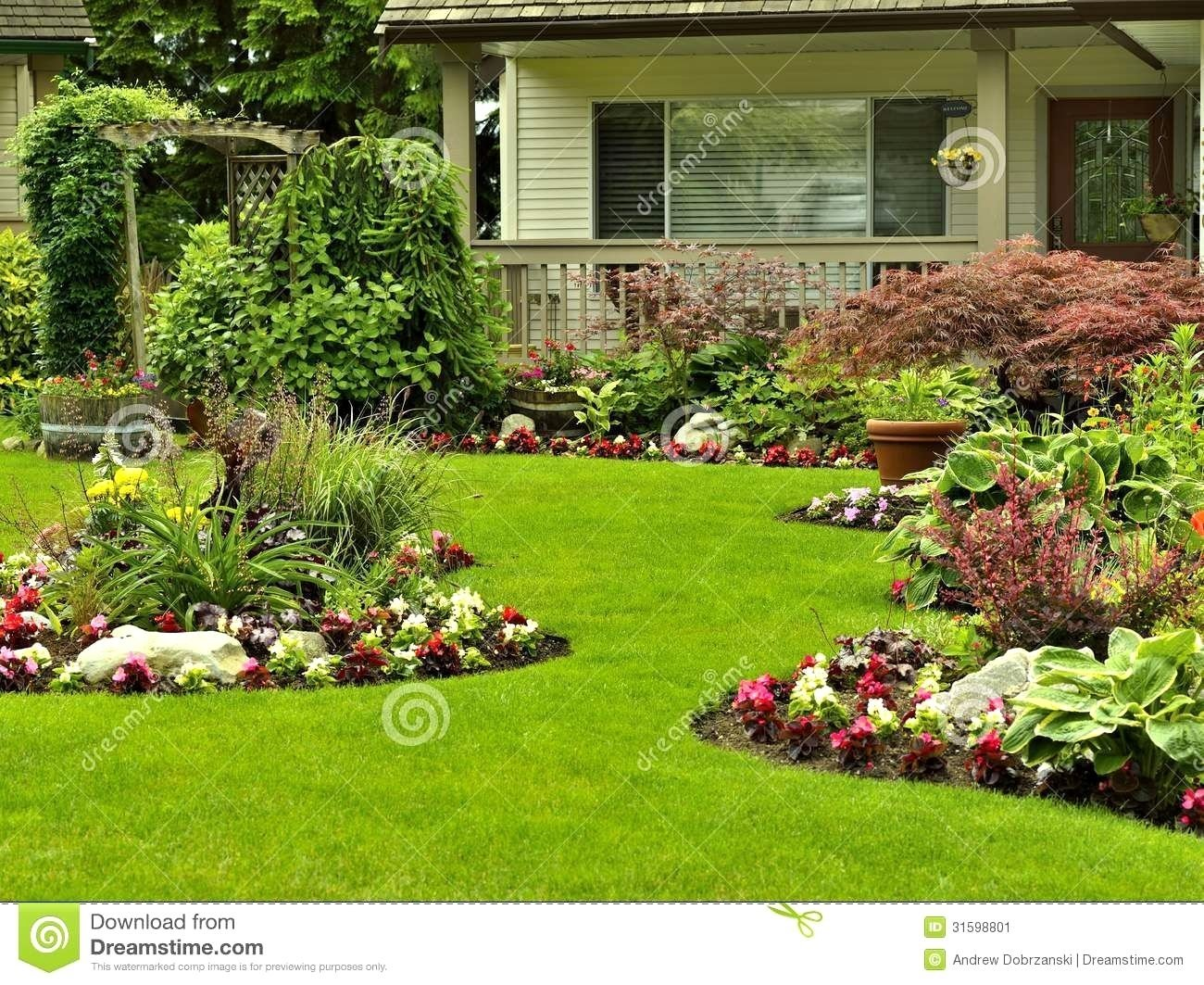 10 Spectacular Front Yard Flower Bed Ideas landscaping ideas for front yard flower bed the garden inspirations 2020