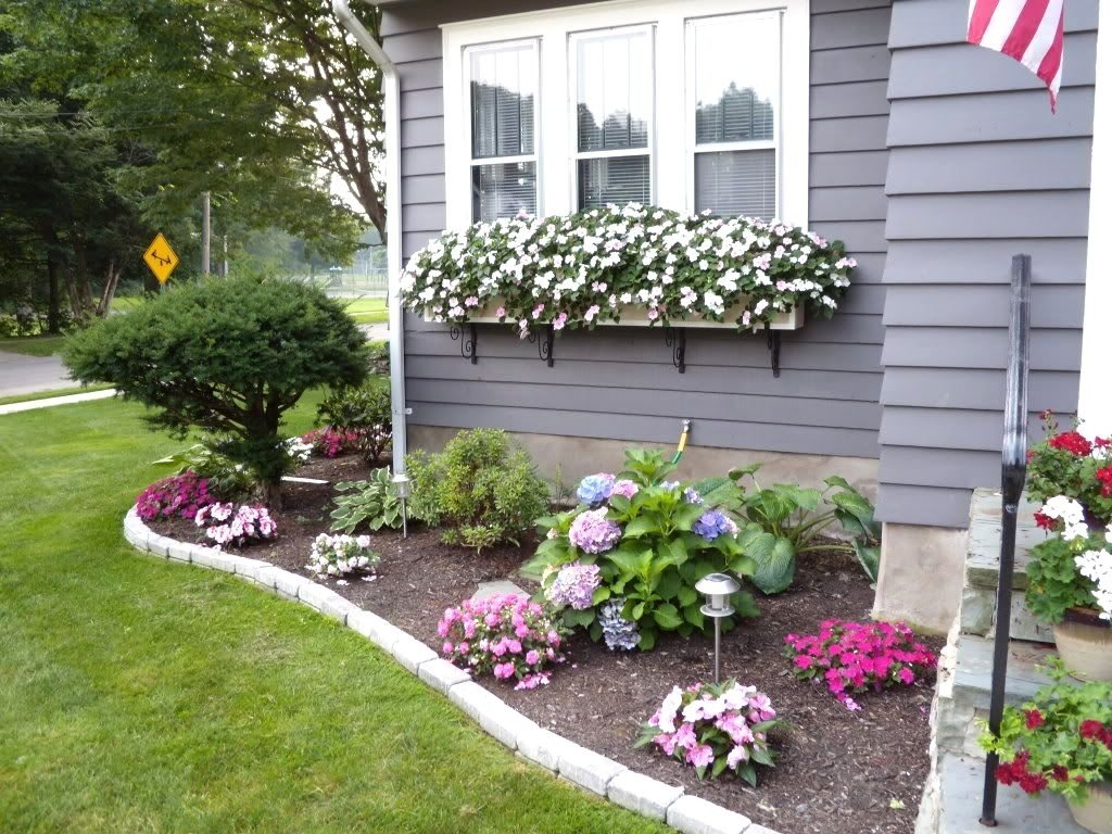 landscaping ideas front yard around house | the garden inspirations