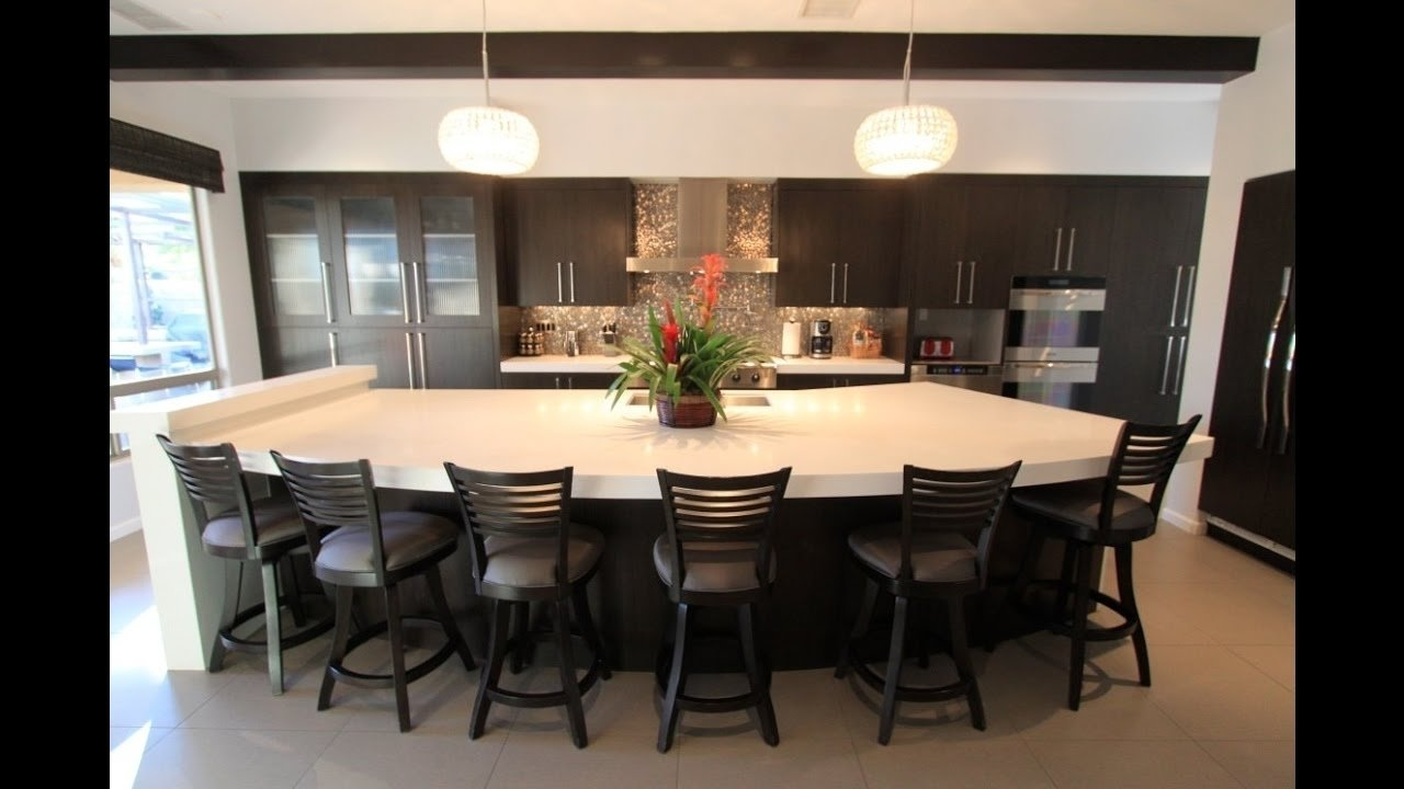 10 Famous Kitchen Island Ideas With Seating large kitchen island with seating ideas and kitchen island cabinets