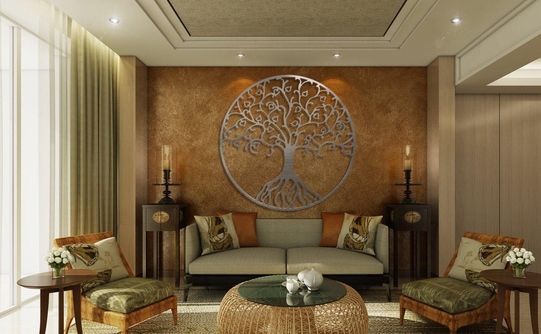 10 Amazing Decorating Ideas For Large Walls large wall decor ideas creative jeffsbakery basement mattress 2020