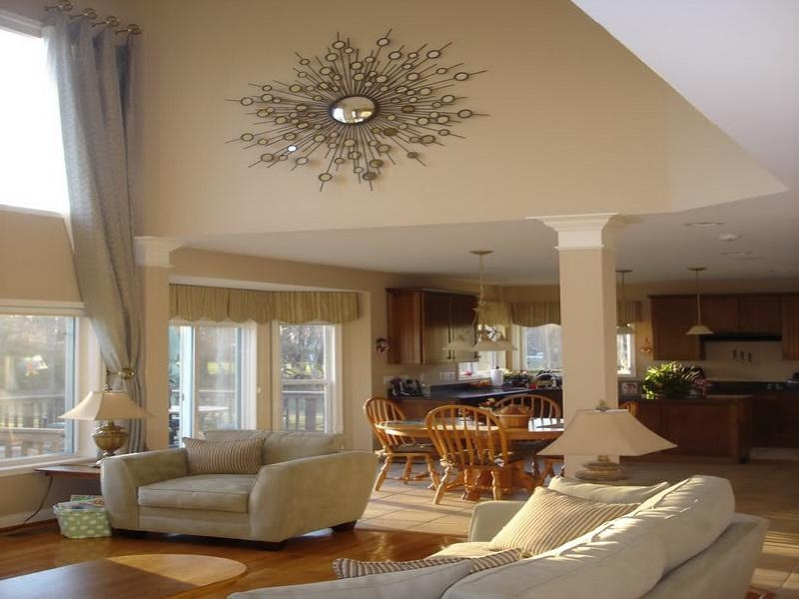 10 Lovable Decorating Ideas For Family Room large wall decorating ideas for living room pleasing decoration 2021