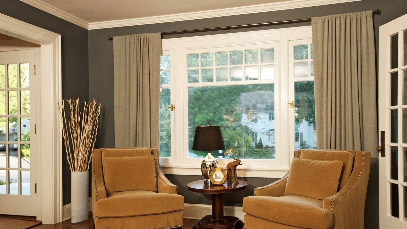10 Famous Curtain Ideas For Large Windows large window curtain ideas models marcosanges large window 2020