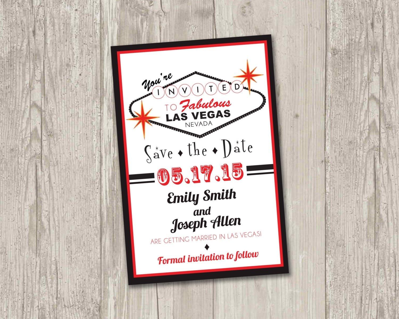 las vegas save the date printable | las vegas, casino theme wedding