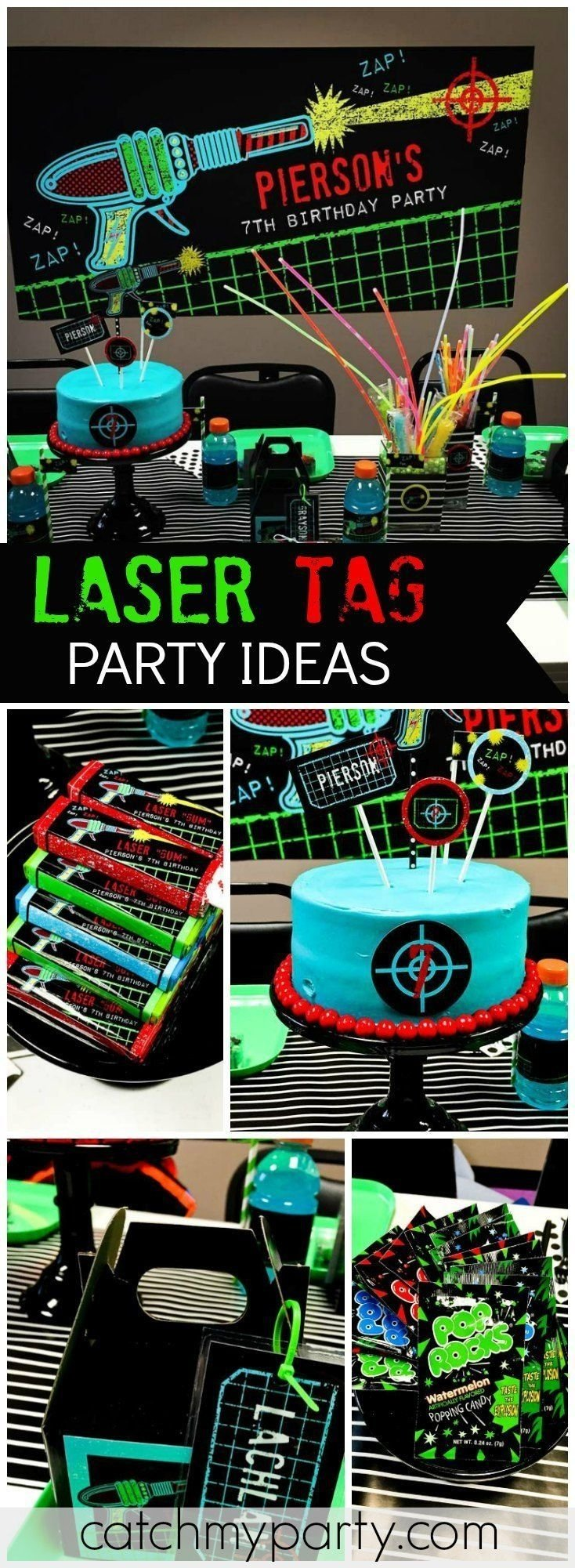 10 Spectacular Laser Tag Birthday Party Ideas laser tag birthday an awesome laser tag party