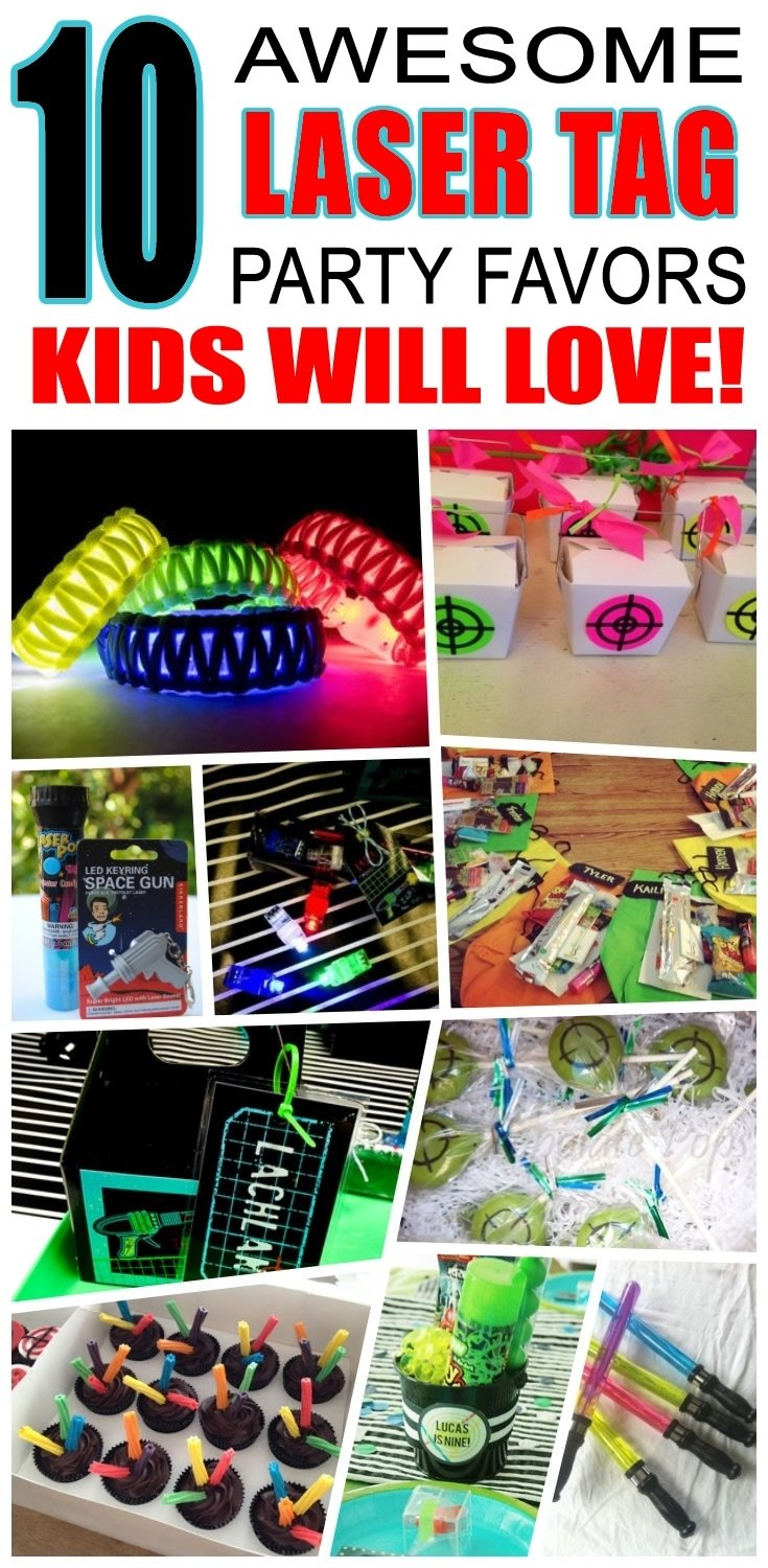 10 Spectacular Laser Tag Birthday Party Ideas laser tag party favor ideas laser tag party laser tag birthday