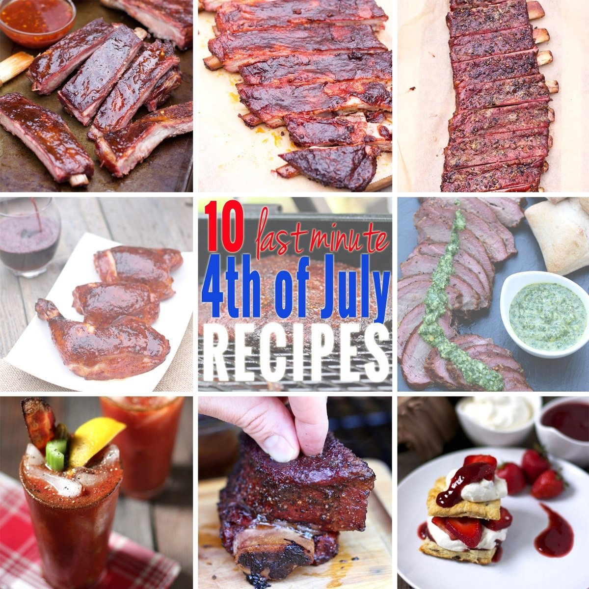 10 Most Recommended 4Th Of July Recipe Ideas last minute 4th of july recipe ideas for your smoker or grill vindulge 2020