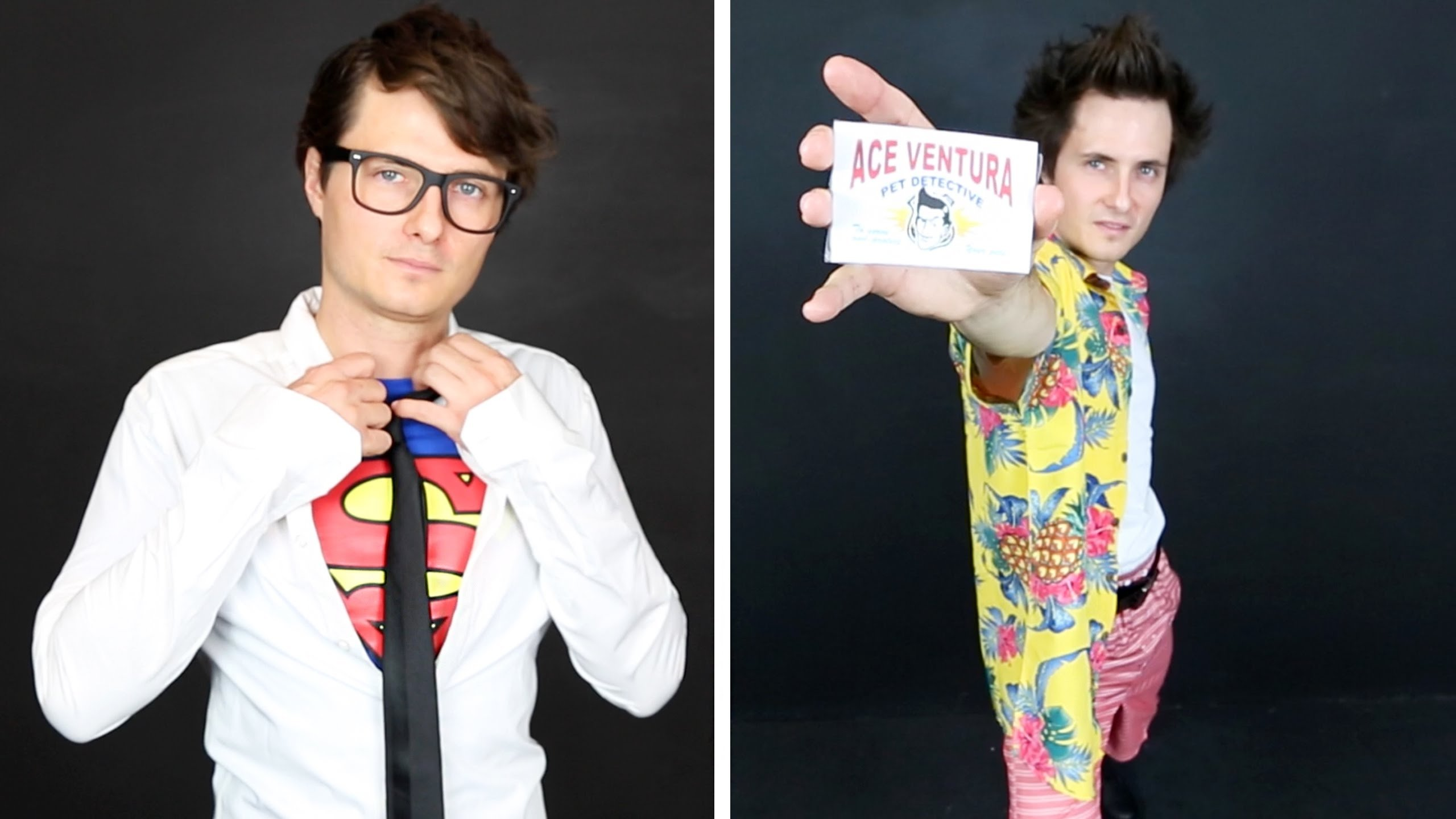 last minute + easy halloween costumes for guys - youtube